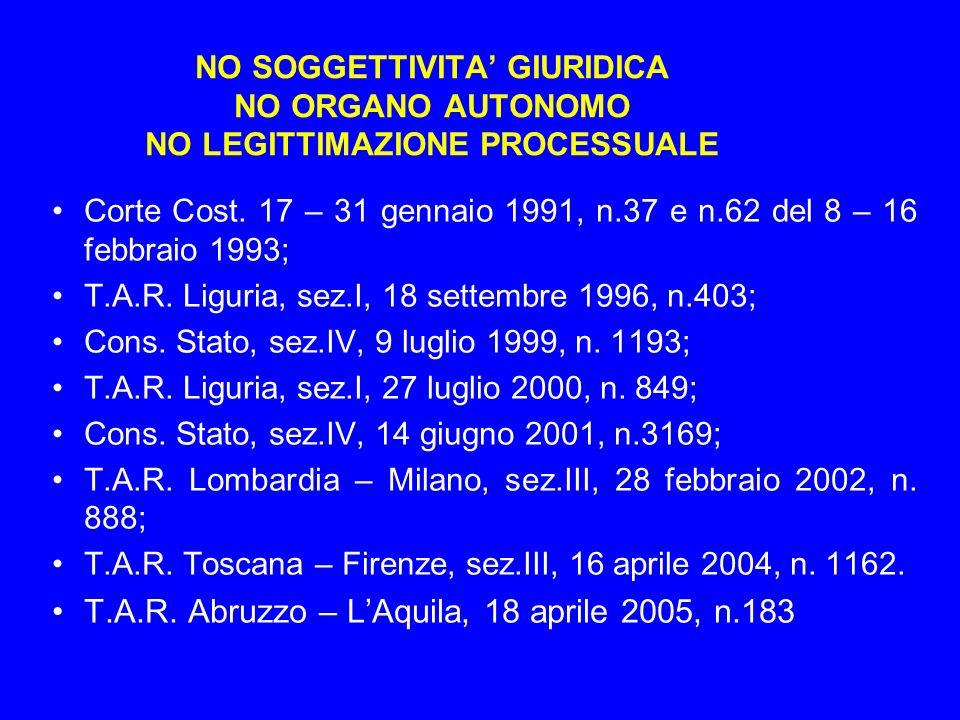 T.A.R. Abruzzo – L'Aquila, 18 aprile 2005, n.183