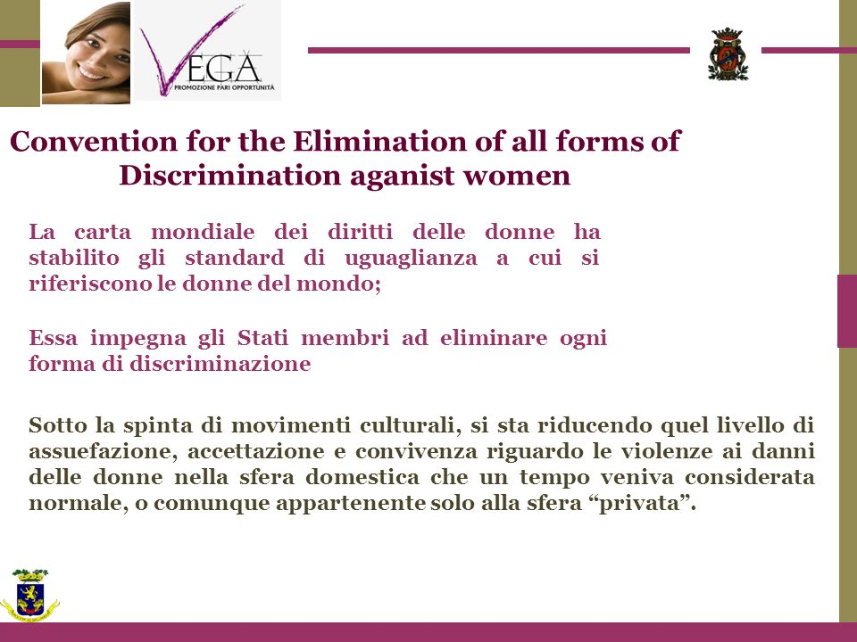 Convention for the Elimination of all forms of Discrimination aganist women