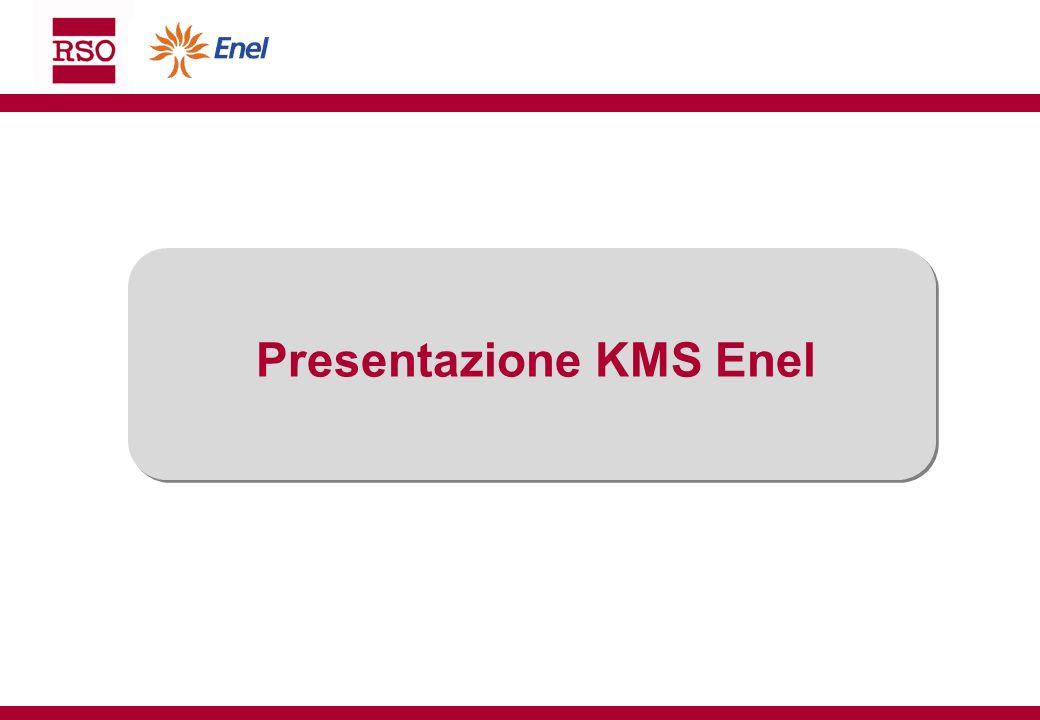 Presentazione KMS Enel