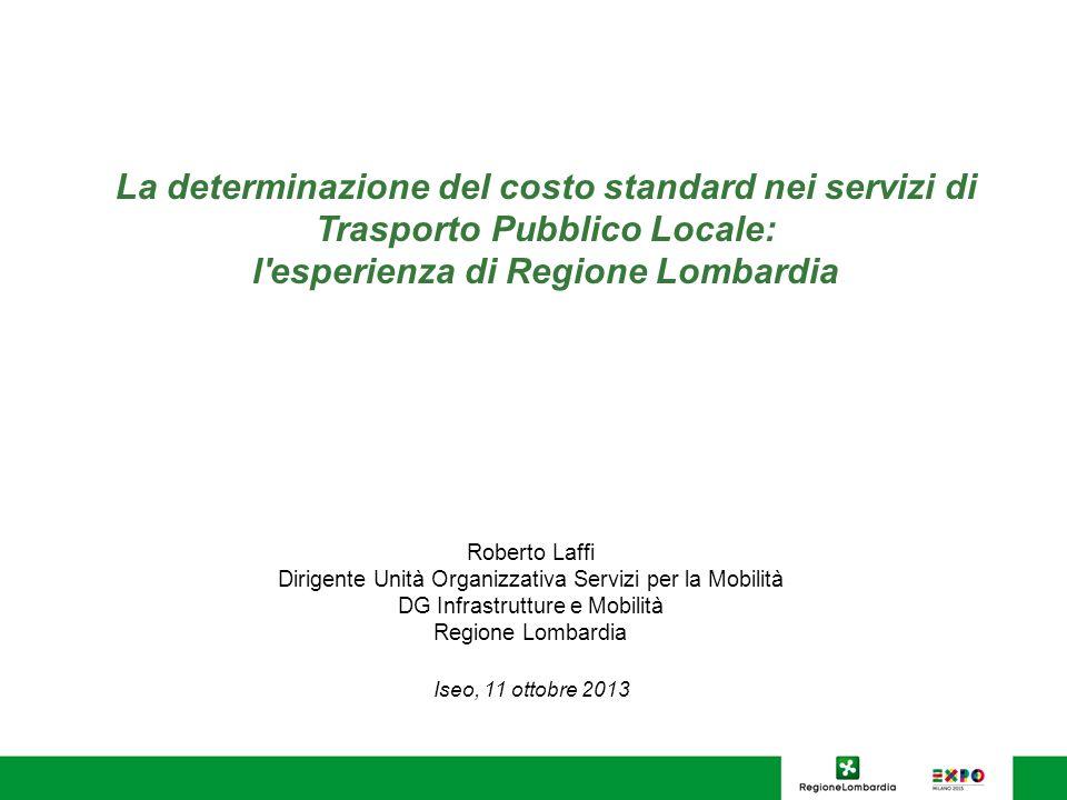 l esperienza di Regione Lombardia