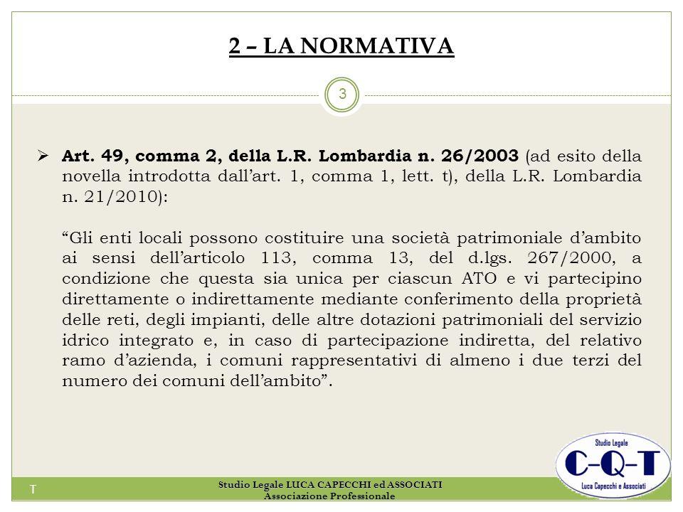 Studio Legale LUCA CAPECCHI ed ASSOCIATI