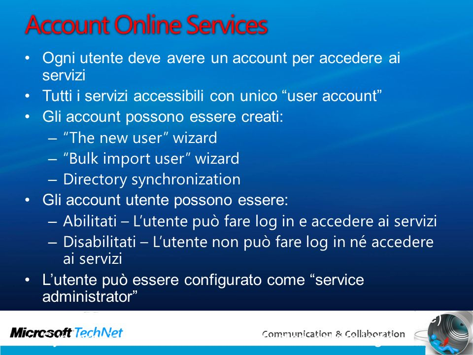 Account Online Services
