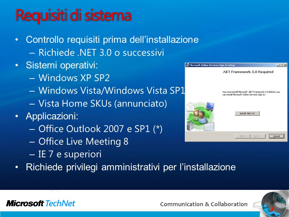 Requisiti di sistema Controllo requisiti prima dell'installazione