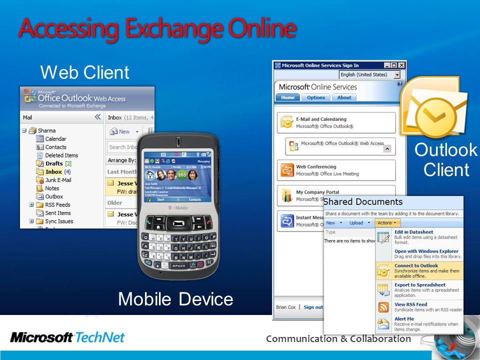 Accessing Exchange Online