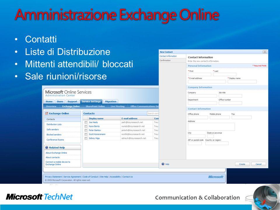 Amministrazione Exchange Online