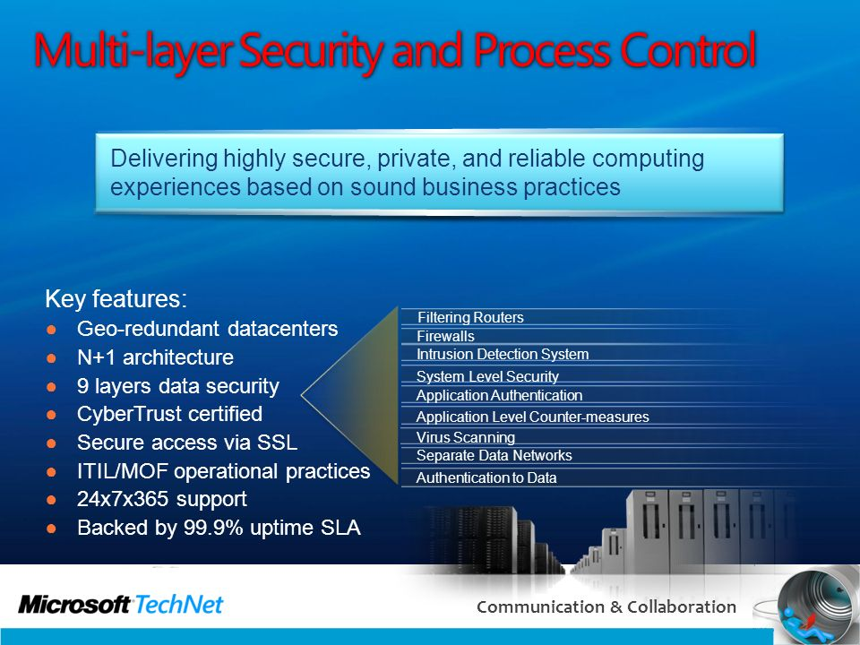 Multi-layer Security and Process Control