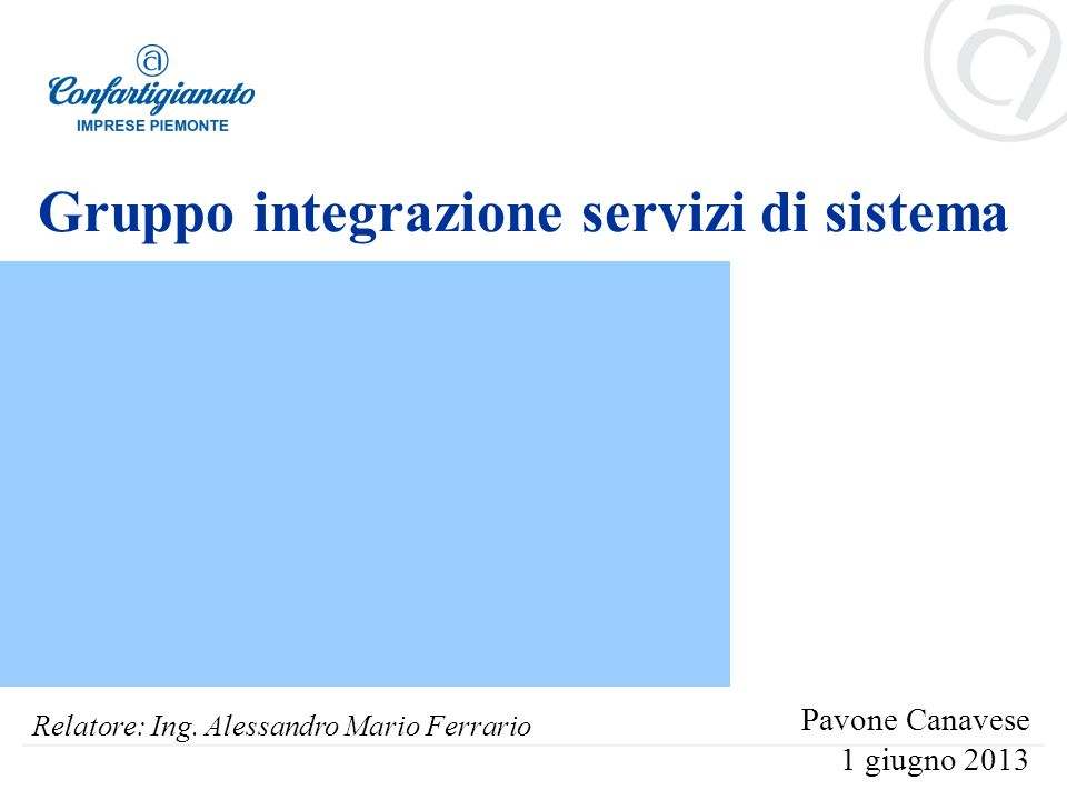 Gruppo integrazione servizi di sistema