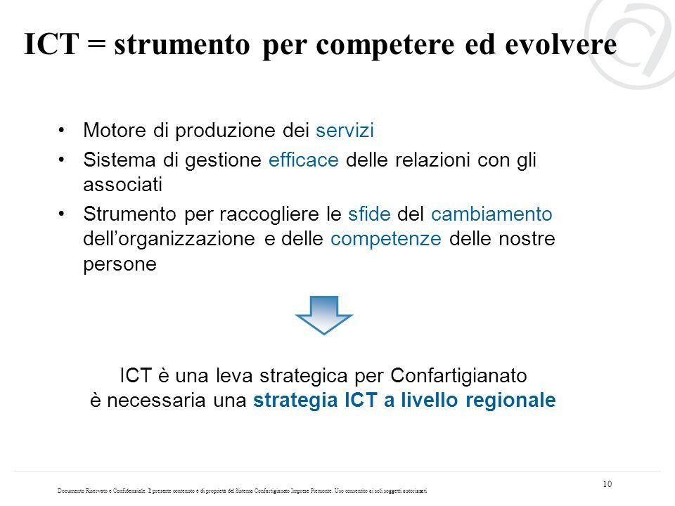 ICT = strumento per competere ed evolvere