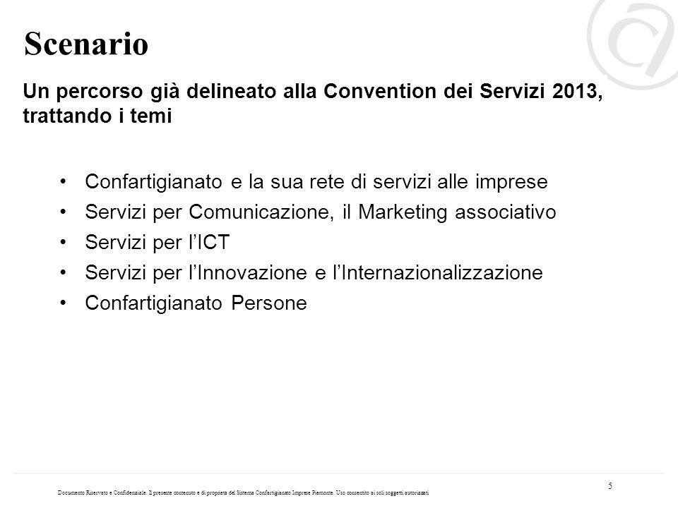 Scenario Un percorso già delineato alla Convention dei Servizi 2013, trattando i temi. Confartigianato e la sua rete di servizi alle imprese.