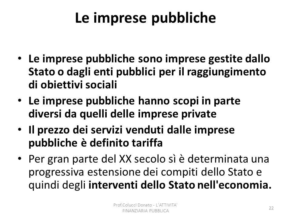 Prof.Colucci Donato - L ATTIVITA FINANZIARIA PUBBLICA