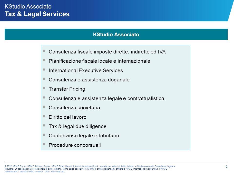 KPMG Fides Servizi di Amministrazione S.p.A. Accounting Services