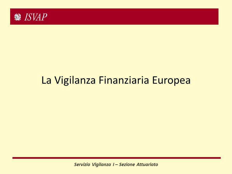 La Vigilanza Finanziaria Europea