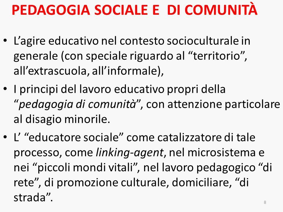 Pedagogia sociale e di comunità