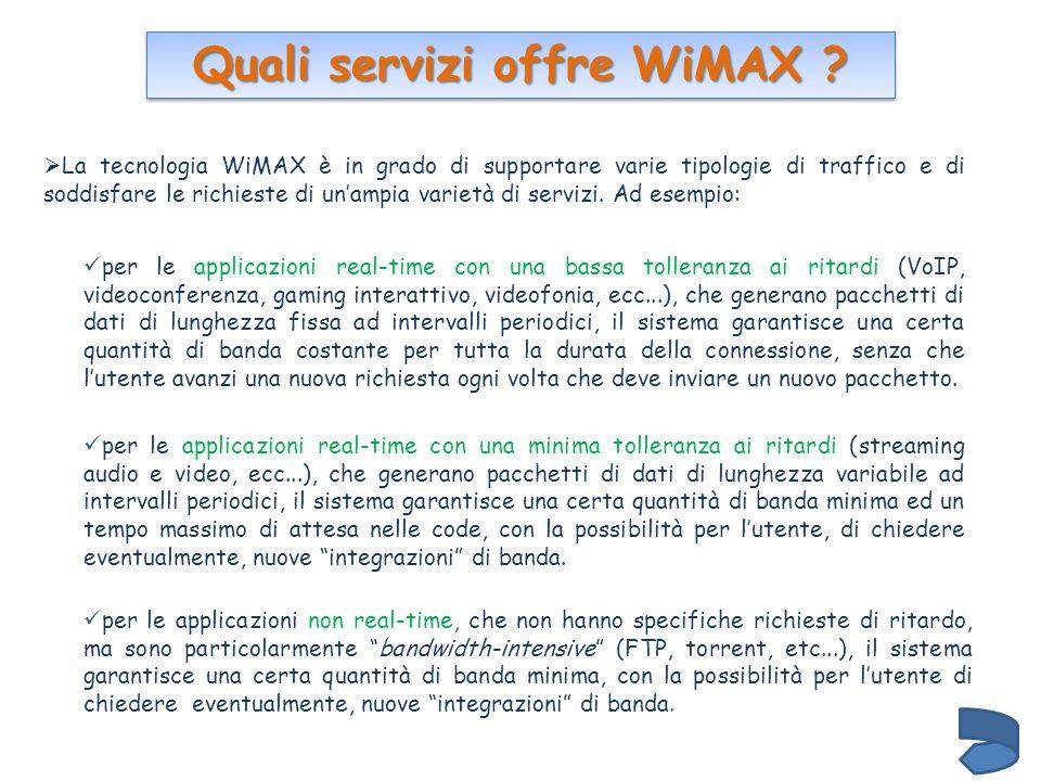Quali servizi offre WiMAX