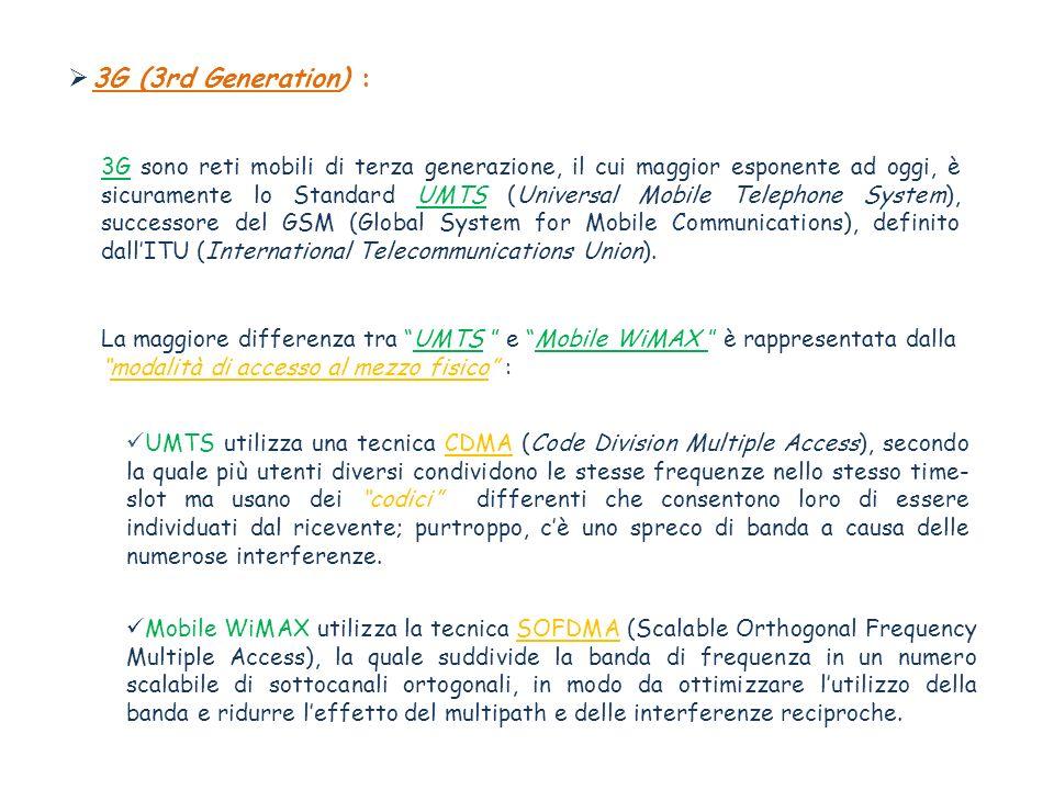 3G (3rd Generation) :