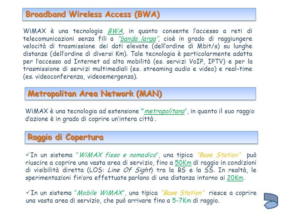 Broadband Wireless Access (BWA)