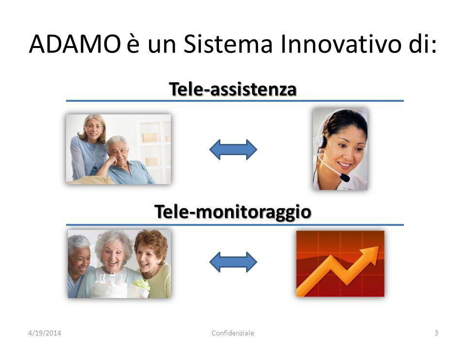 ADAMO è un Sistema Innovativo di: