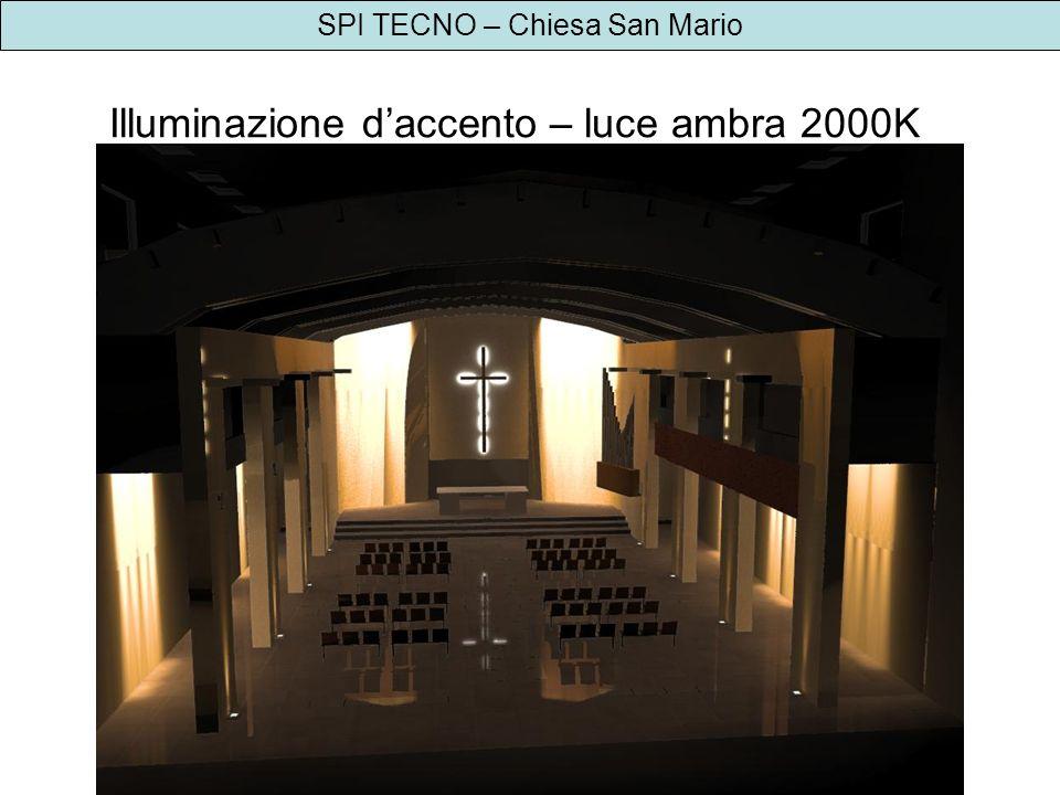 Illuminazione d'accento – luce ambra 2000K