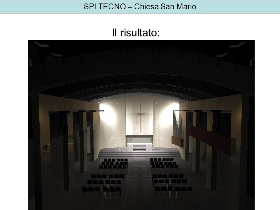 SPI TECNO – Chiesa San Mario