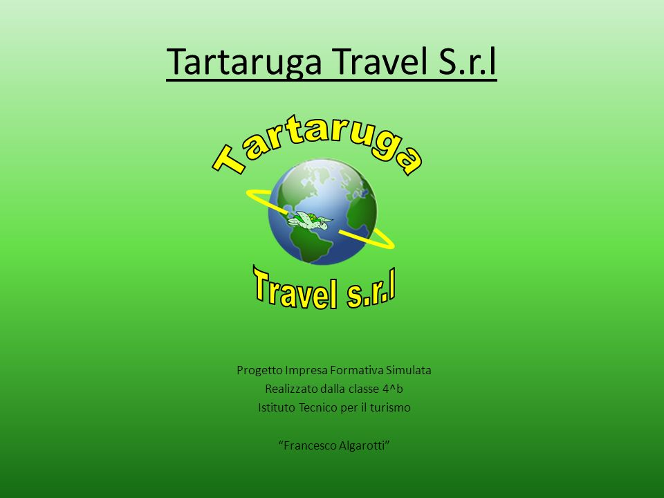 Tartaruga Travel S.r.l Tartaruga Travel s.r.l