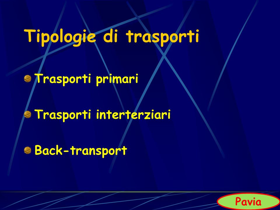 Tipologie di trasporti