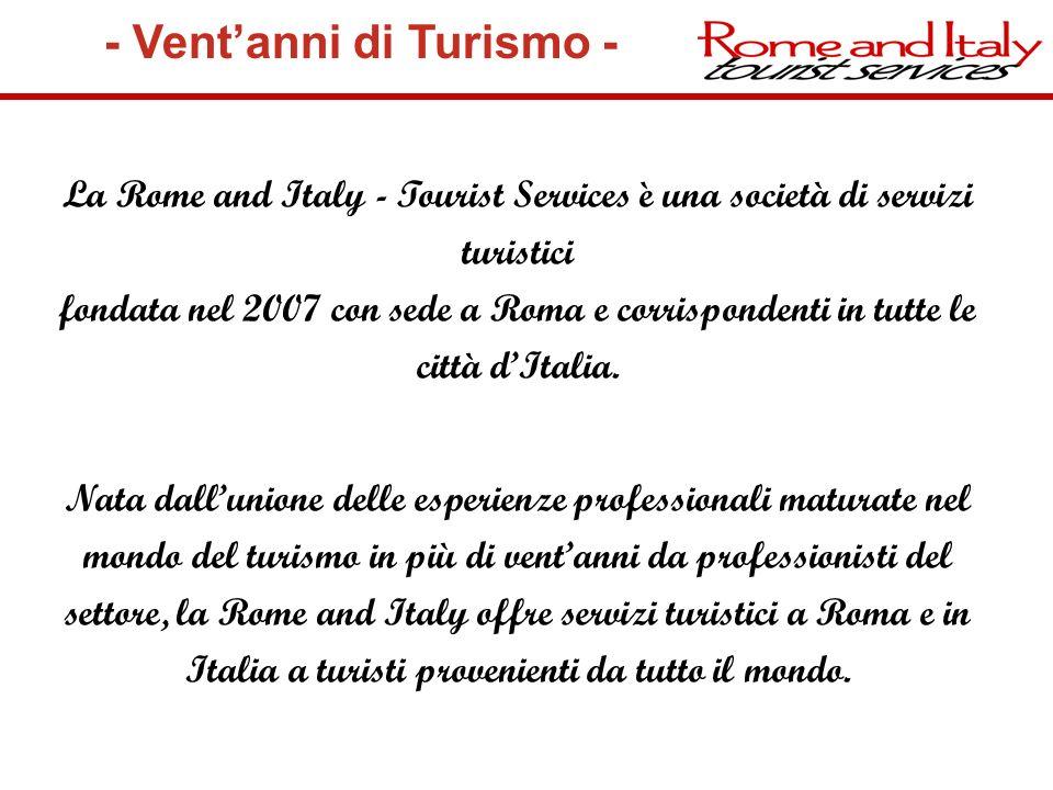 - Vent'anni di Turismo -