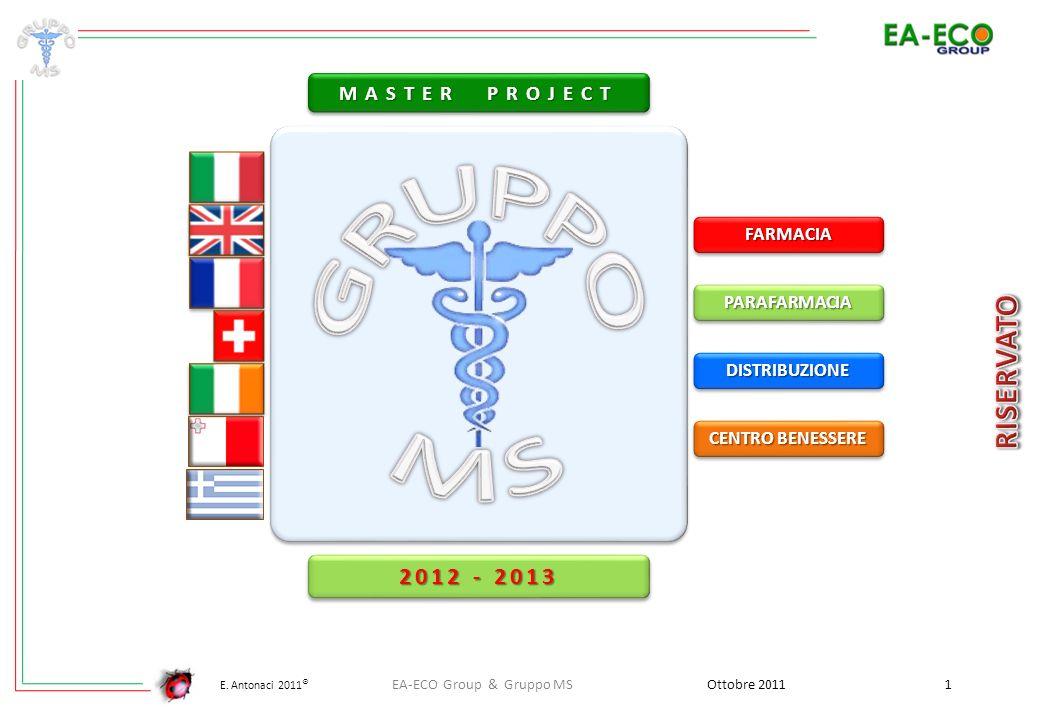 GRUPPO MS 2012 - 2013 MASTER PROJECT FARMACIA PARAFARMACIA