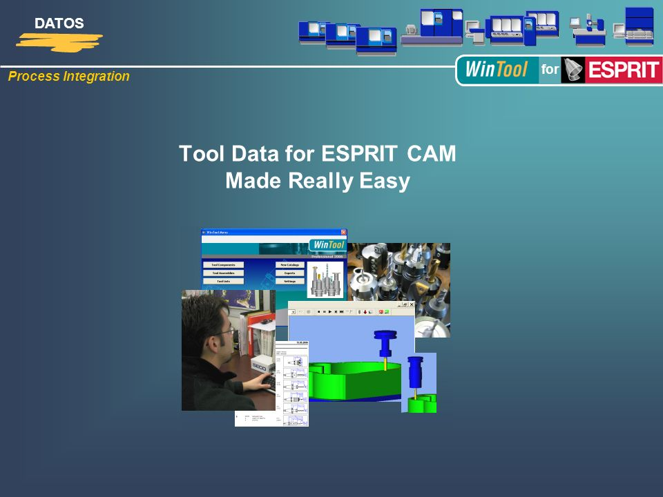 Tool Data for ESPRIT CAM Made Really Easy
