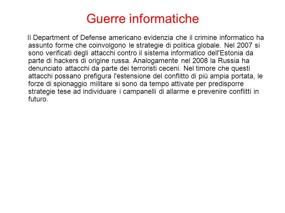 Guerre informatiche