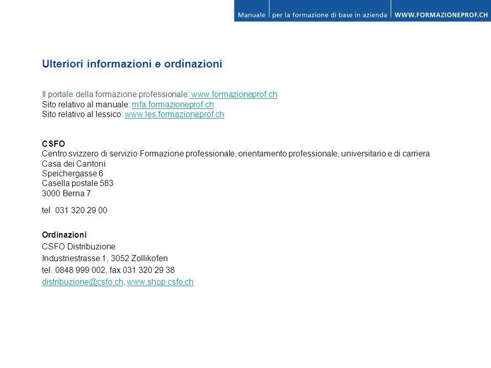 Ulteriori informazioni e ordinazioni