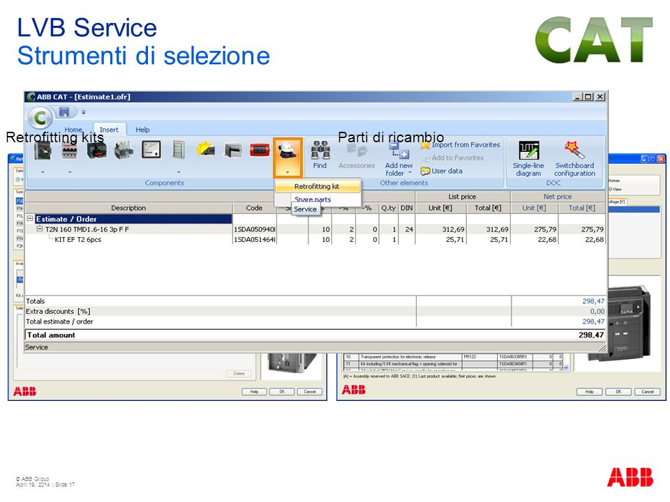 LVB Service Strumenti di selezione