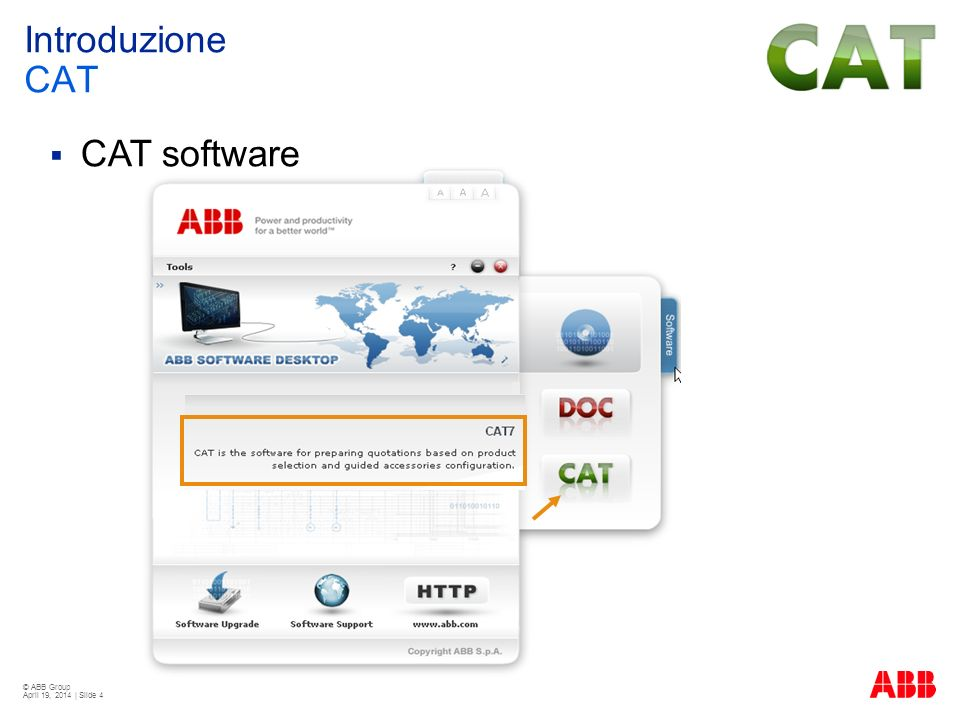 CAT software Introduzione CAT