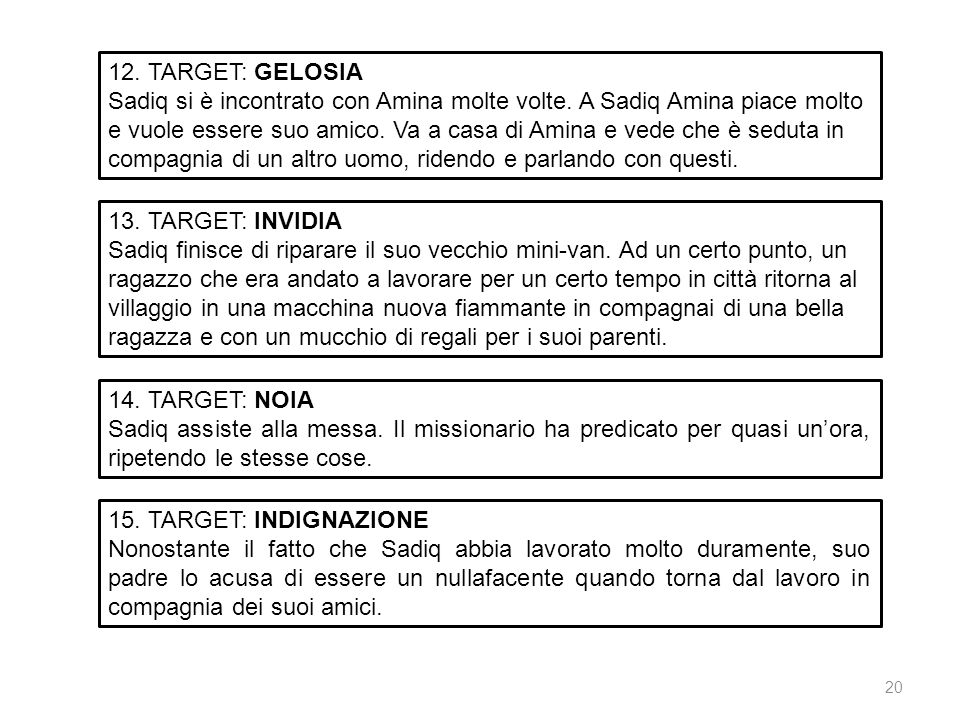 12. TARGET: GELOSIA