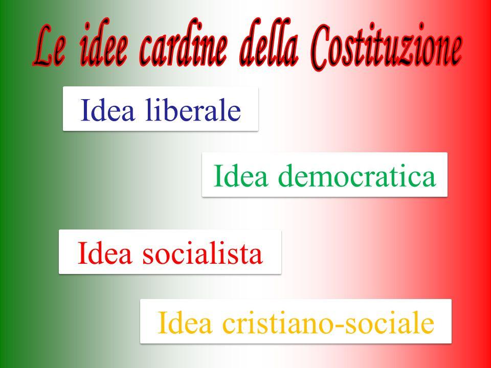 Le idee cardine della Costituzione