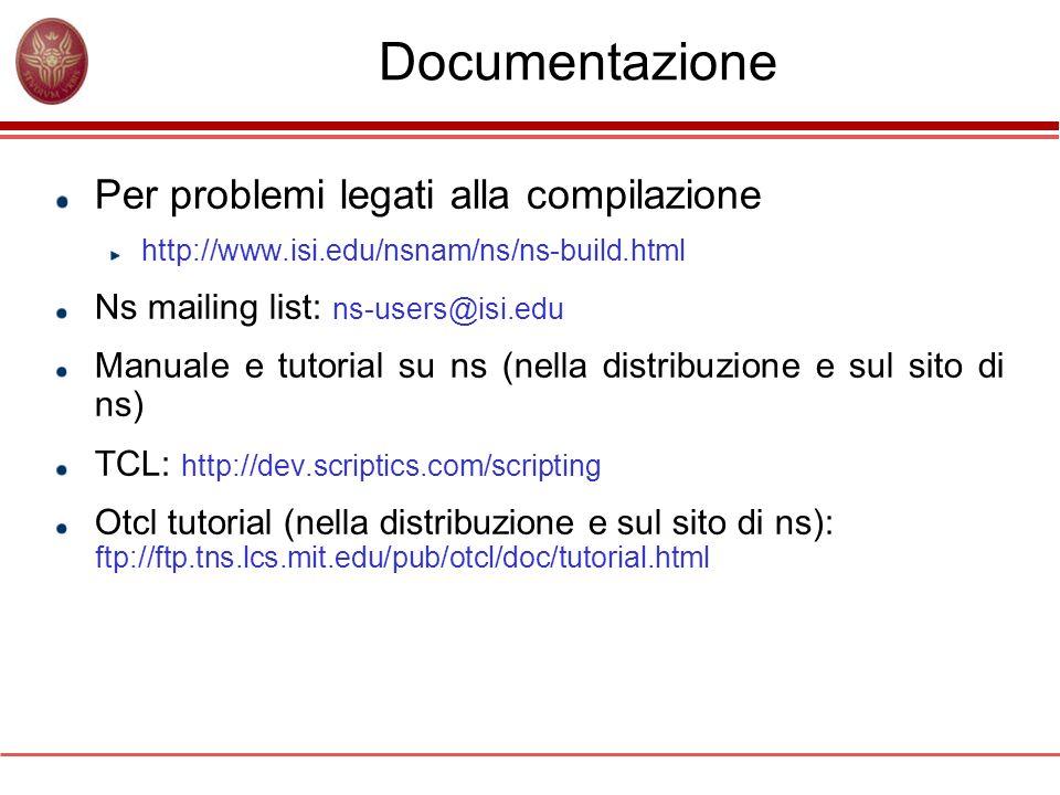 Documentazione Per problemi legati alla compilazione
