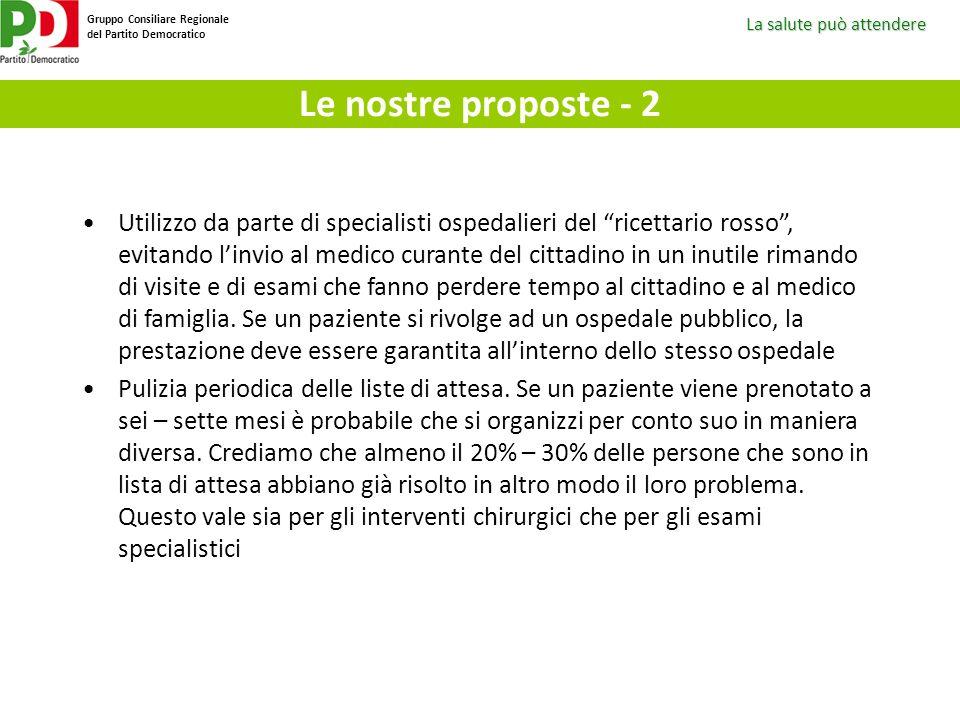 Le nostre proposte - 2