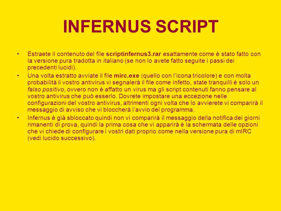 INFERNUS SCRIPT