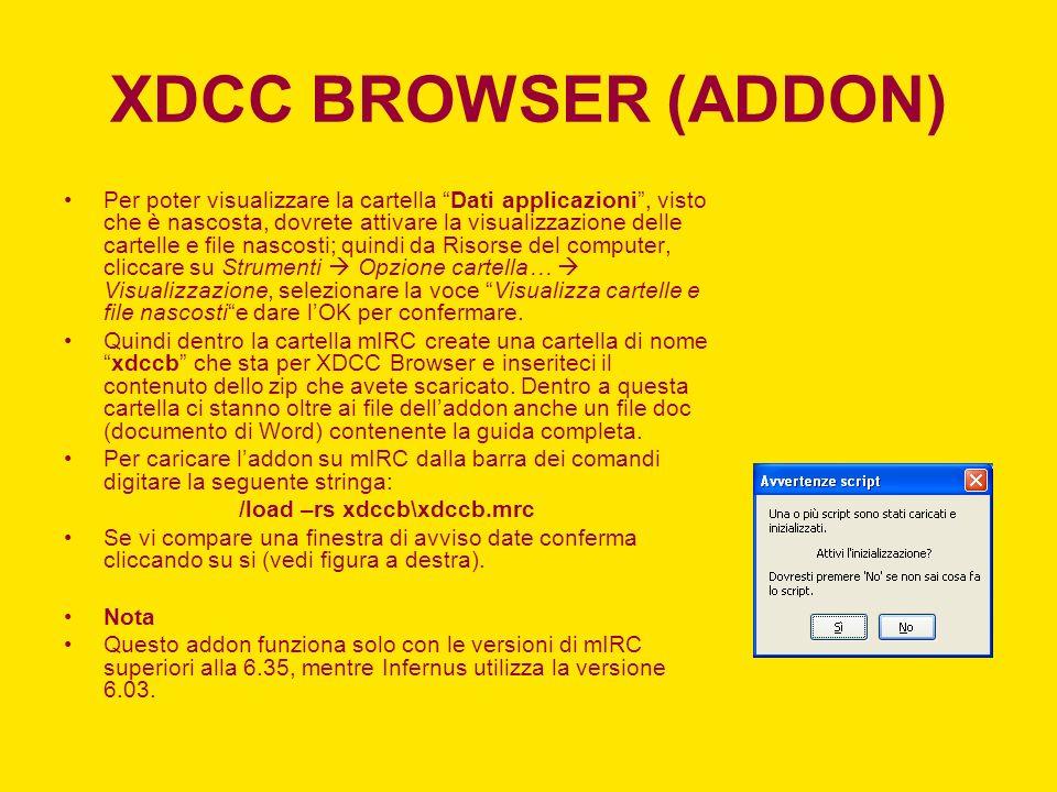 /load –rs xdccb\xdccb.mrc
