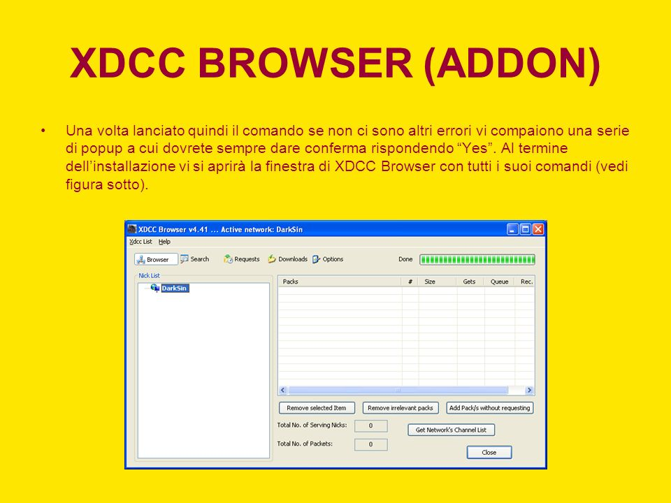 XDCC BROWSER (ADDON)