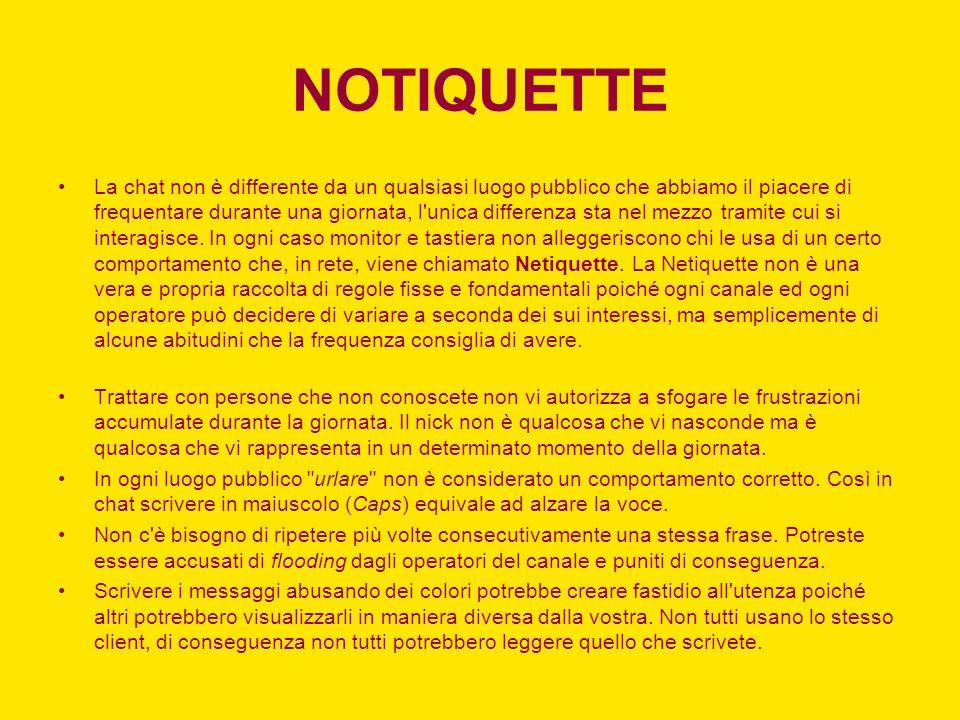 NOTIQUETTE