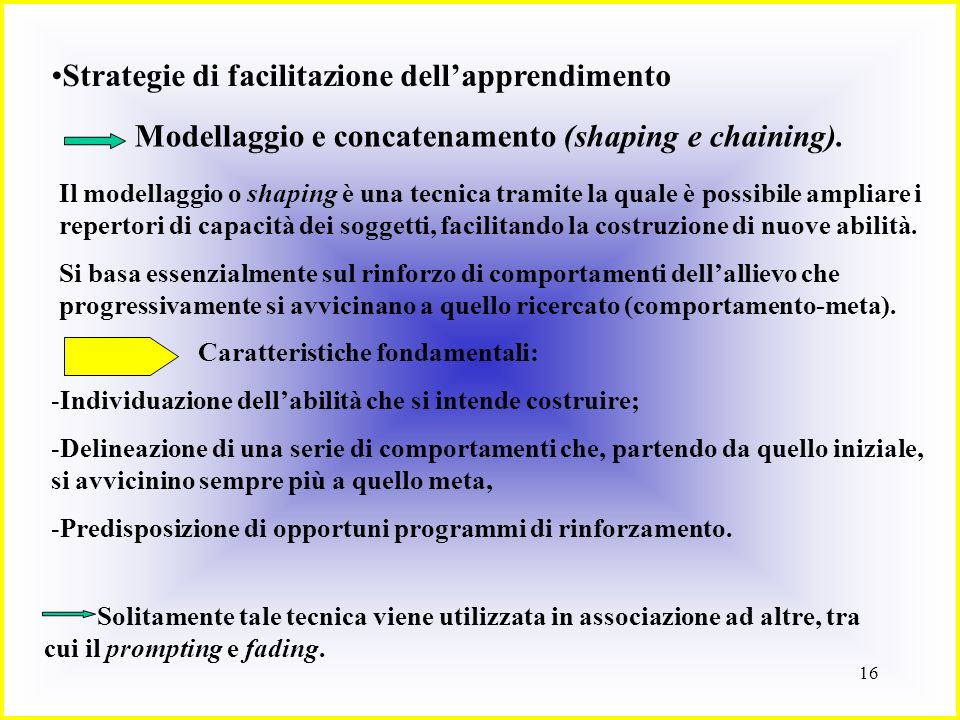 Strategie di facilitazione dell'apprendimento