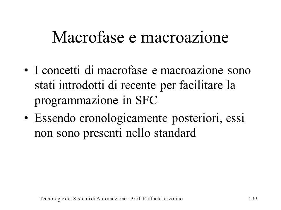 Macrofase e macroazione