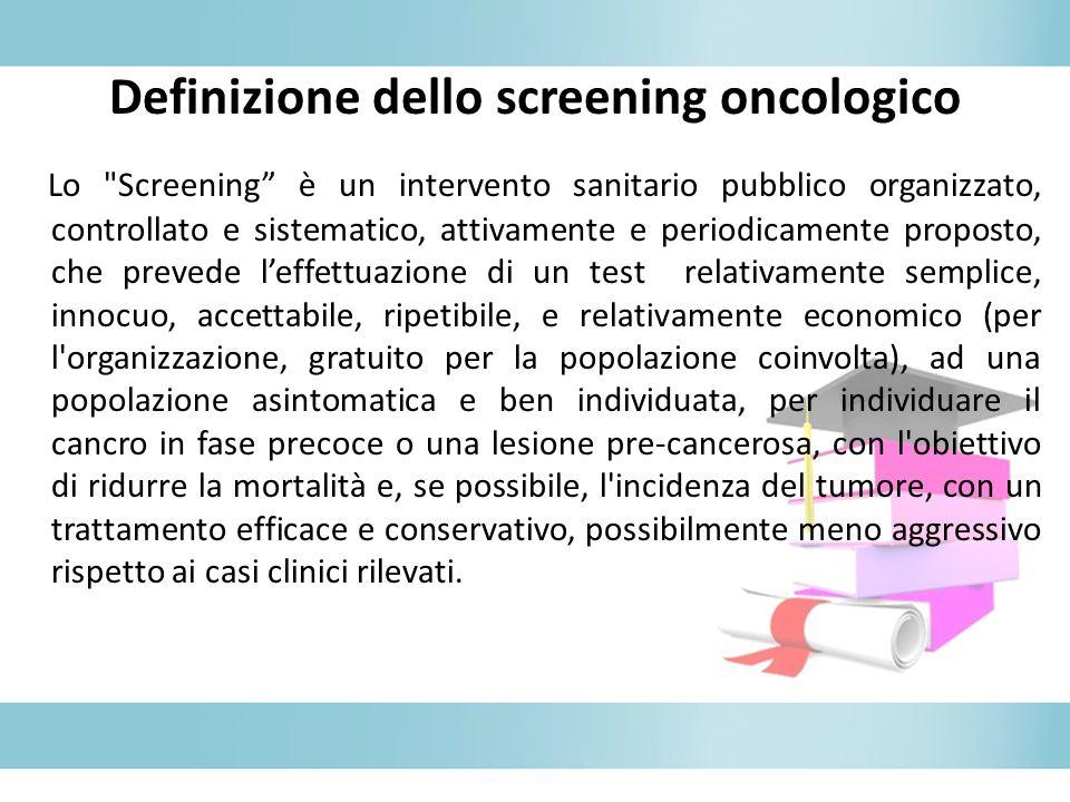 Definizione dello screening oncologico