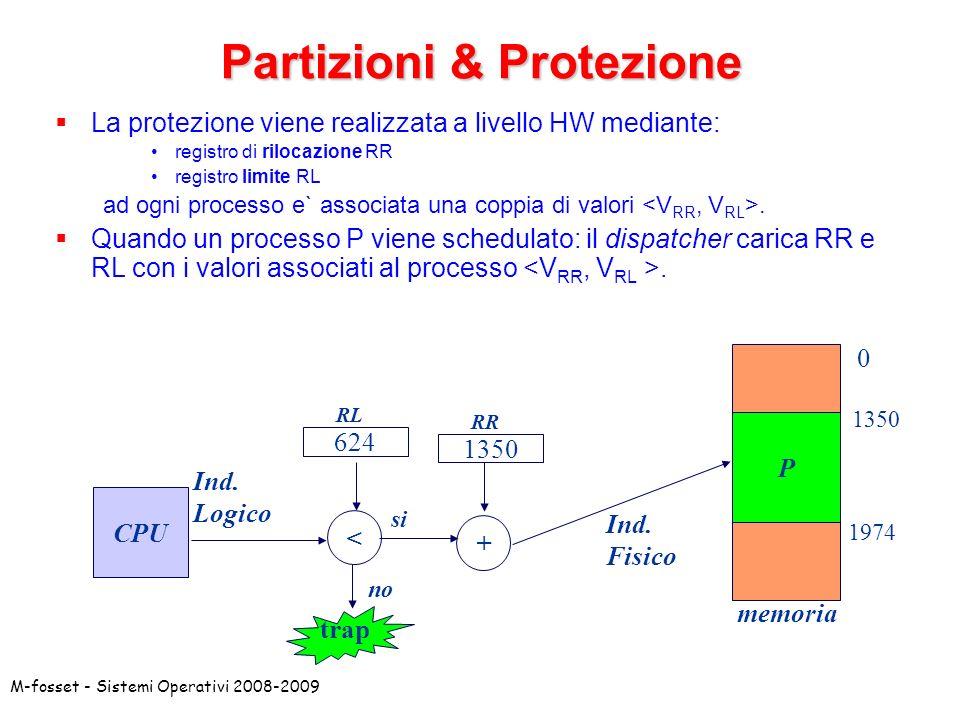 Partizioni & Protezione