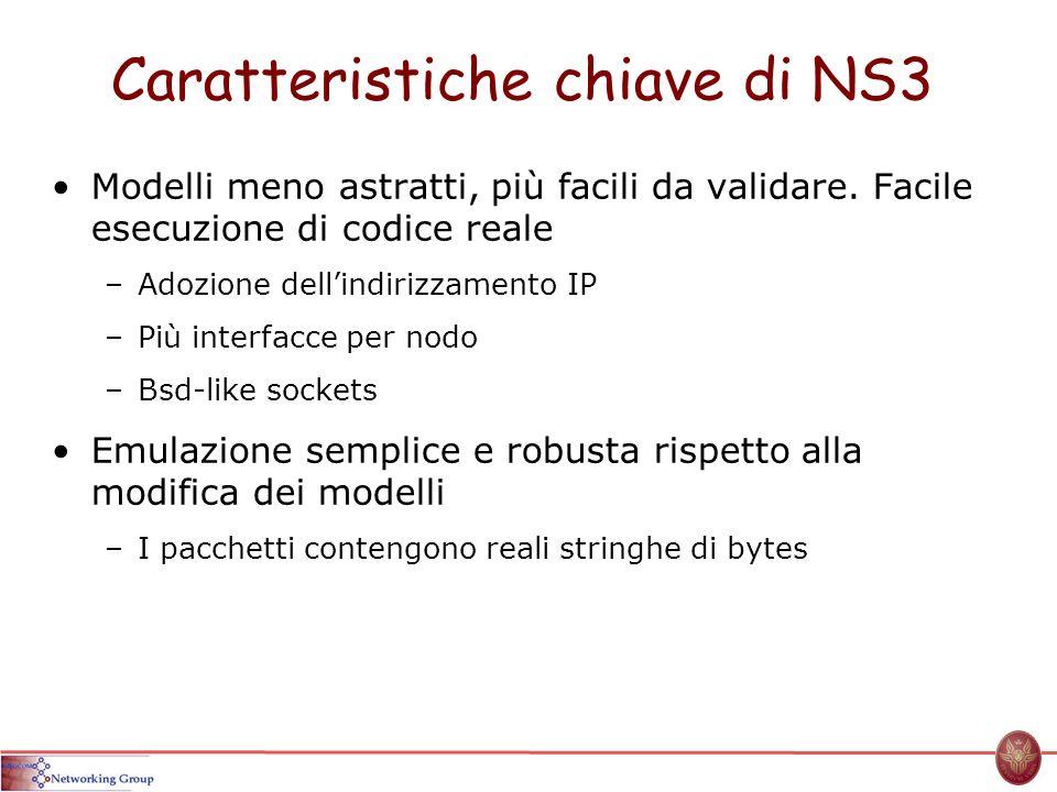 Caratteristiche chiave di NS3