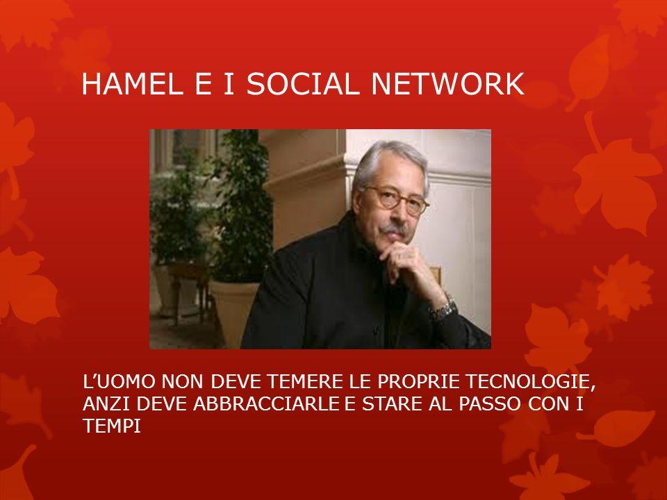 HAMEL E I SOCIAL NETWORK