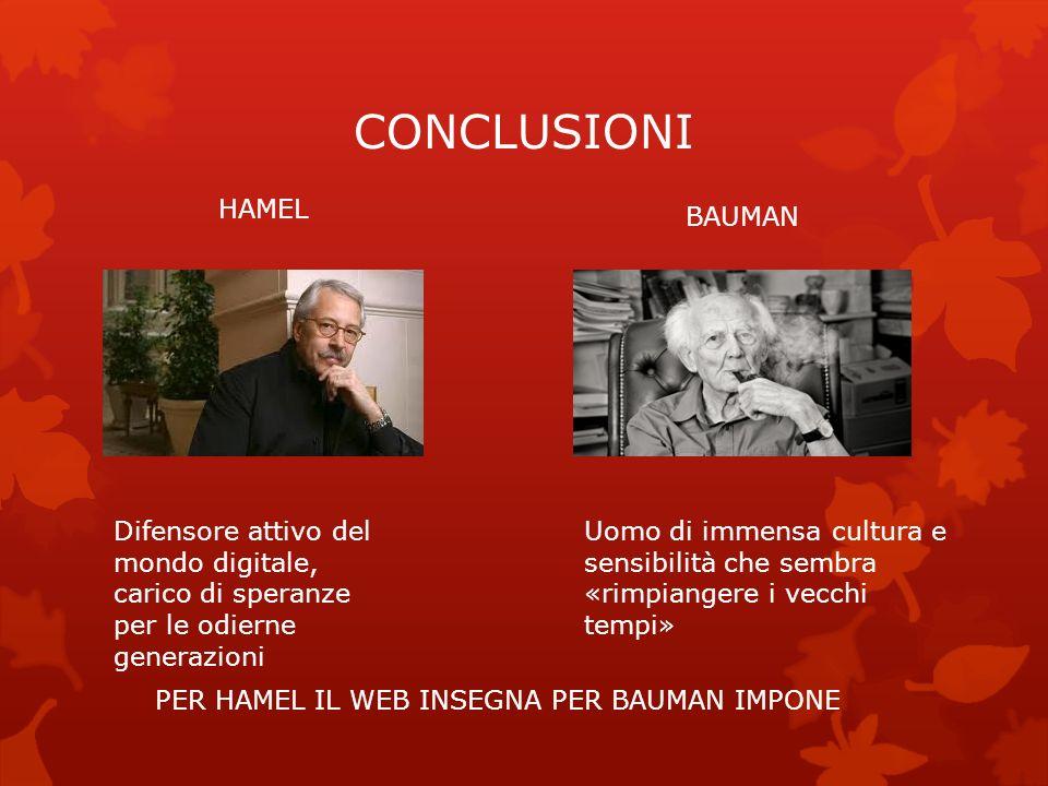 CONCLUSIONI HAMEL BAUMAN