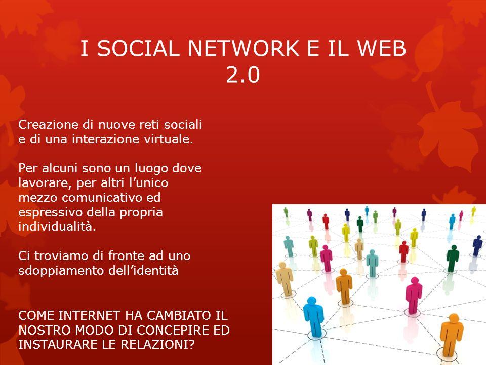 I SOCIAL NETWORK E IL WEB 2.0