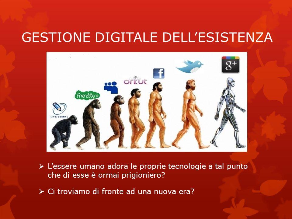 GESTIONE DIGITALE DELL'ESISTENZA