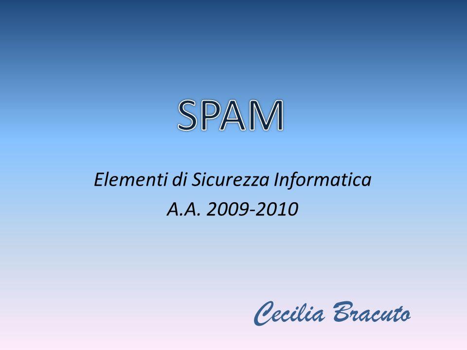 Elementi di Sicurezza Informatica A.A. 2009-2010